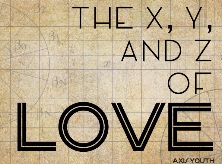 The x,y,z, of love