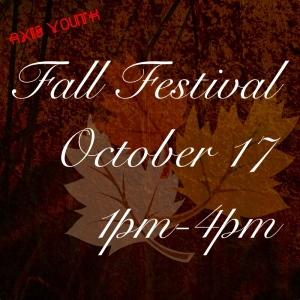 Axis Youth Group fall festival